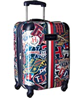 "Tommy Hilfiger TH-660 Vintage Rally 21"" Upright Suitcase"