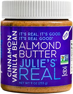Julie's Real Cinnamon Vanilla Bean Almond Butter - 9 Ounce Jar