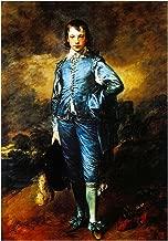 The Art Stop Painting Portrait Study Gainsborough Blue BOY Print F12X4983