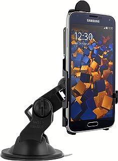mumbi KFZ Halterung für Samsung Galaxy S5 / S5 Neo/Autohalterung VibrationsFREI / 90° QUERBetrieb möglich