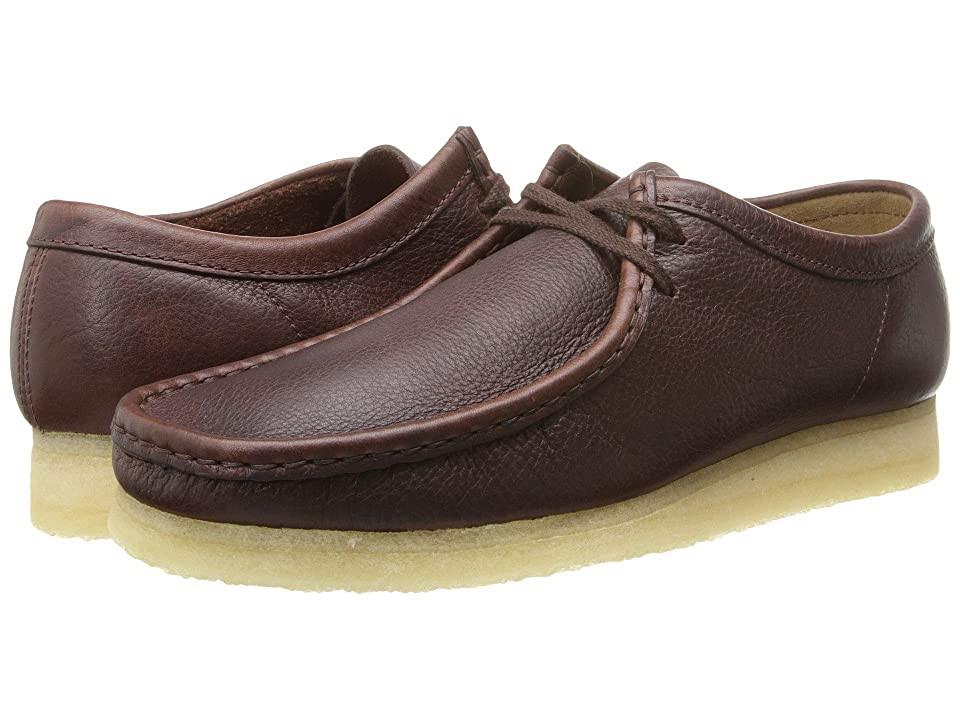 Clarks Wallabee (Brown Tumbled Leather) Men