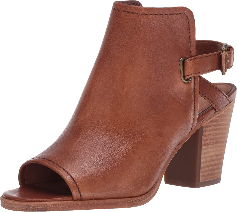 Frye Women's Delaney Harness Shield Heeled Sandal