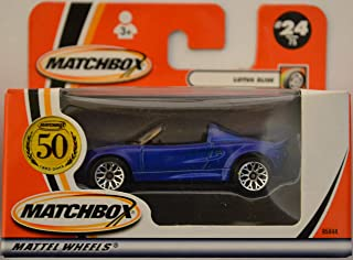 Lotus Elise Blue #24 Matchbox 50th Anniversary Series 1:64 Scale Die Cast Collectible Car Model