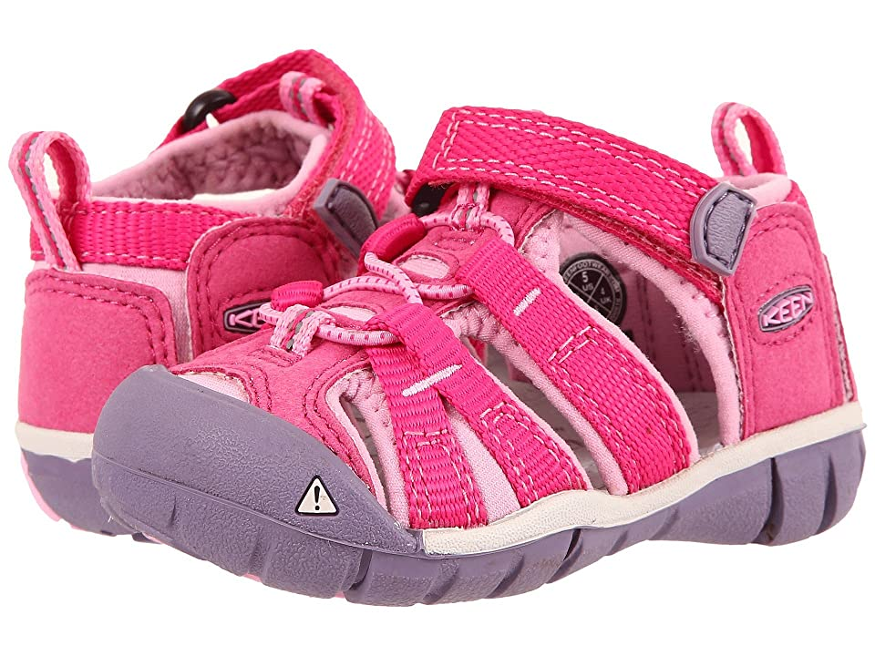Keen Kids Seacamp II CNX (Toddler) (Very Berry/Lilac Chiffon) Girls Shoes