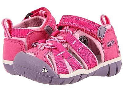 Keen Kids Seacamp II CNX (Toddler) (Very Berry/Lilac Chiffon) Girls Shoes