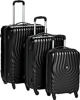 كاميلينت حقائب سفر بعجلات 3 قطع , اسود , AY909004-BLACK