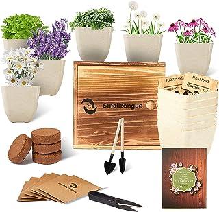 Smalltongue Indoor Herb Garden Kit-Herbal Tea Growing Kits, 6 Types of Herb Herbal Tea,Herbal Tea Growing Starter Kit for ...