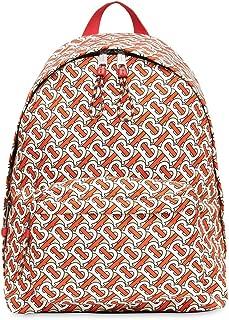 Luxury Fashion   Burberry Mens 8016107 Orange Backpack   Fall Winter 19