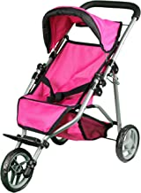 you & me twin doll jogger stroller purple
