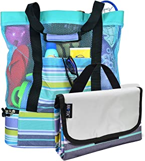 Best large beach bag with zip Reviews