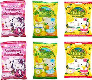 Marshmallows with Fruit Flavored Jelly Filling (Pack of 6)