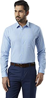 Raymond Blue Slim Fit Cotton Shirt