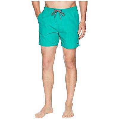 Scotch & Soda Classic Swim Shorts in Bright Colours (Spearmint) Men