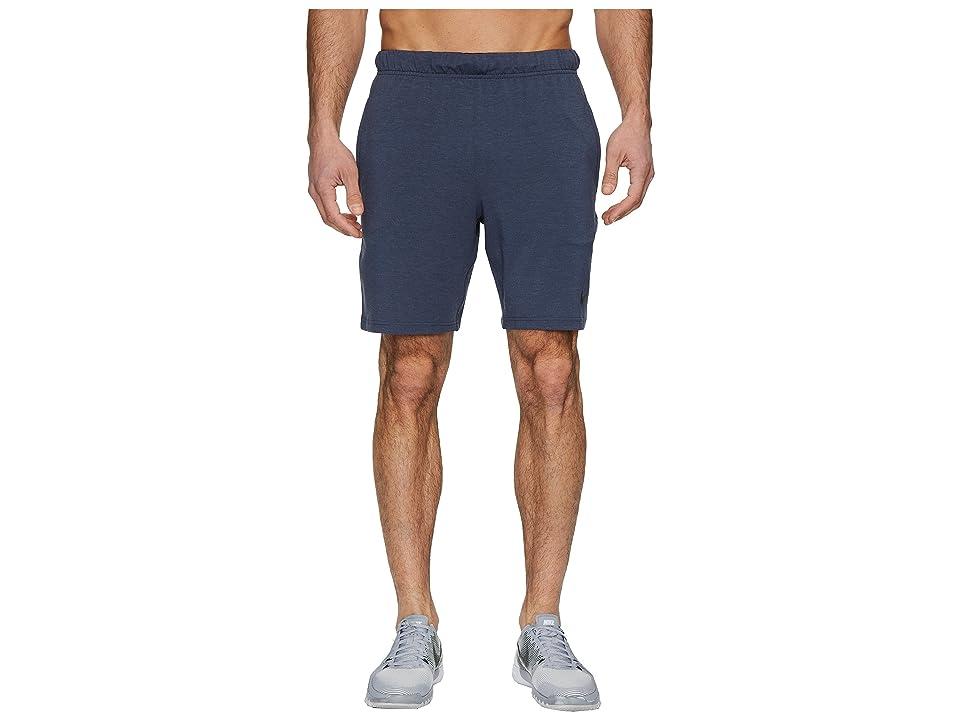 Nike Dri-FIT 8 Training Short (Thunder Blue/Black/Light Carbon/Black) Men