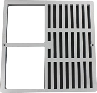 Endura 394712C 12-Inch by 12-Inch Half Grate Floor Sink Grate