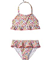 Ditsy Floral Two-Piece Swim Set (Toddler/Little Kids/Big Kids)