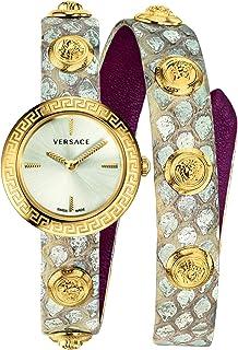 Medusa Stud Icon Quartz Silver Dial Ladies Watch VERF00118