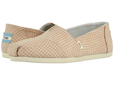 TOMS Alpargata 3.0 (Desert Tan Mini Houndstooth) Women