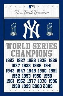 Trends International MLB New York Yankees Champions, 22