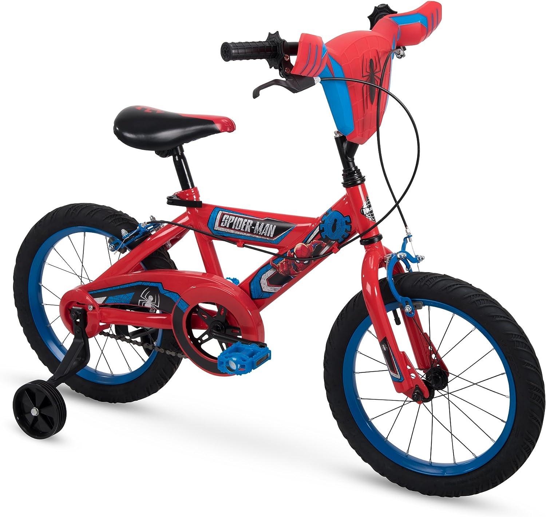 Huffy 16  & 12  Marvel SpiderMan Boys Bike w Training Wheels