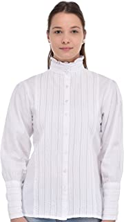 Cotton Lane Plus Size Classic Blouse