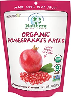 fresh arils pomegranate