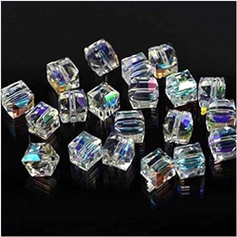 Crystal Cube Beads-3mmCrystal Beads glass beads Beads