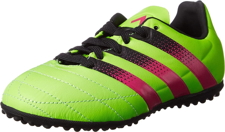 Adidas - Ace 16.3 Tf J Leather, Sautope da Calcio Unisex – Bimbi 0-24