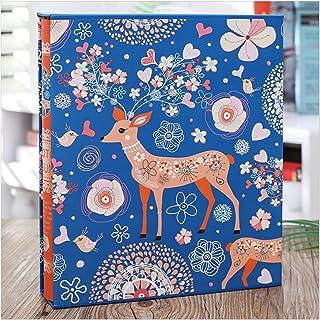 Album Photo, 4D Grand Album Photo de 6 Pouces 200 Feuilles de Stockage d'images bébé Famille Albums de Scrapbooking Cadeau...