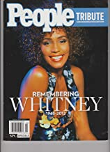 PEOPLE TRIBUTE COMMEMORATIVE EDITION REMEMBERING WHITNEY HOUSTON 1963-2012.
