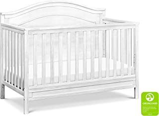 DaVinci Charlie 4-in-1 Convertible Crib in Cottage White | Greenguard Gold Certified