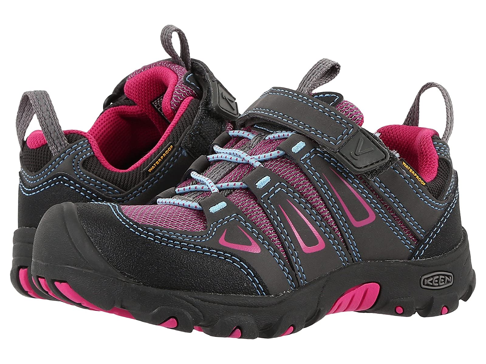 Keen Kids Oakridge Low WP (Toddler/Little Kid)Atmospheric grades have affordable shoes