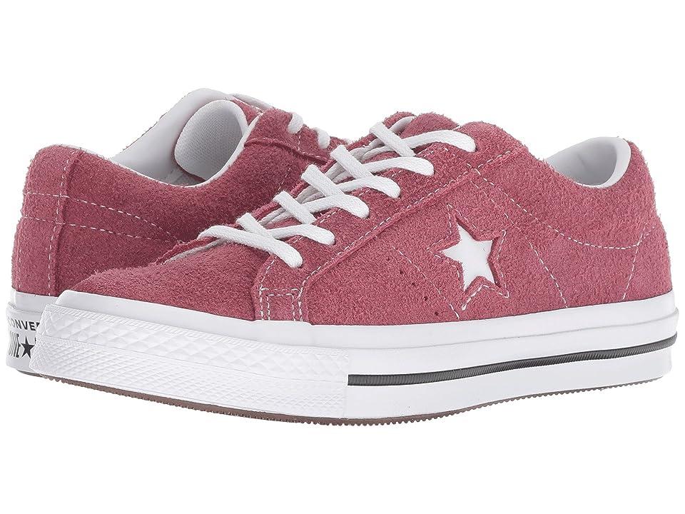 Converse Kids One Star Ox (Big Kid) (Dark Burgundy/Black/White) Boys Shoes