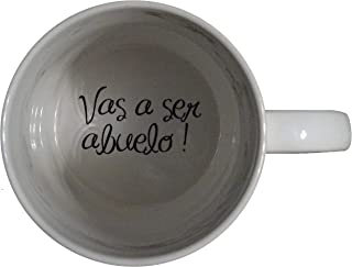 topmug Vas a ser Abuelo, You're Going to be a Grandpa Coffee Mug, Pregnancy Announcement, Pregnancy Reveal, Bottom, Hidden Message, Secret Message, Coffe Cup