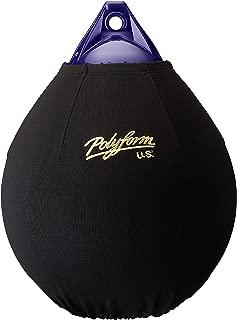Polyform US EFC-A6 Fender Cover, Black (Fits 34-Inch Diam. A-6 Buoy) - 60842692