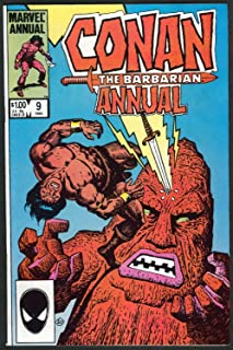 Conan the Barbarian Annual # 9 (1984)