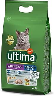 comprar comparacion Ultima Pienso para Gatos Esterilizados Senior + de 10 Años con Pollo - 3 kg