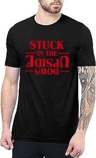 Stuck T Shirt - Black Tee for Mens
