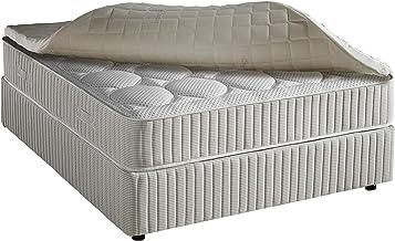 Masterbed Memory Foam Pad Upper Mattress - H 5 cm X W 200 cm X D 200 cm, California King Size
