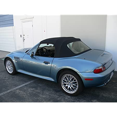 Amazon Com Sierra Auto Tops Convertible Soft Top Replacement Compatible With Bmw Z3 1996 2002 Sun Fast Material Black Automotive