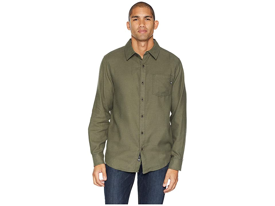Marmot Hobson Midweight Flannel Long Sleeve (Forest Night Heather) Men