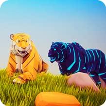 Tiger Simulator Poly Art Adventure