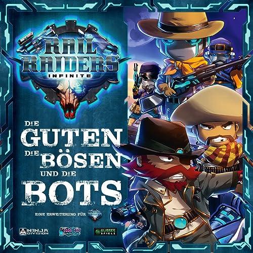 Rail Raiders Infinite - Die Guten, die B n und die Bots  rWeißrung DEUTSCH