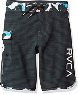 RVCA Boys' Big Eastern Swim Trunk