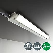 LED Unterbauleuchte Schwenkbar Lichtleiste Küchenleiste LED Küchenleuchte Küchenlampe Schrankleuchte Schranklampe weiß Ein/Ausschalter 56 x 6,1 x 3 cm 8,5 Watt 1000 Lumen