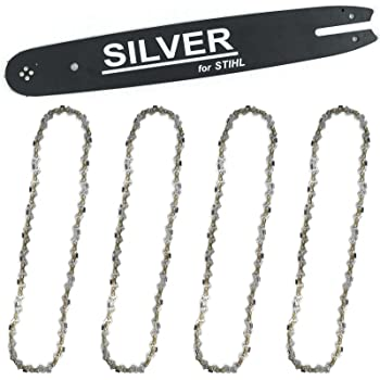 Stihl Sägekette  für Motorsäge STIHL MS200 Schwert 35 cm 3//8 1,3