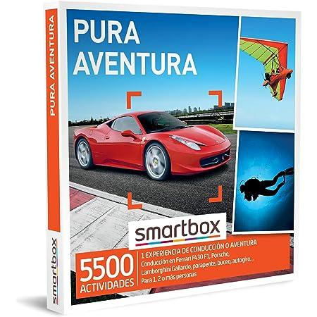 Smartbox - Caja Regalo Pura Aventura - Idea de Regalo para Hombres - 1 Experiencia de Aventura o conducción para 1, 2 o más Personas