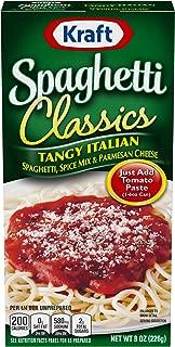 Best kraft boxed spaghetti dinner Reviews