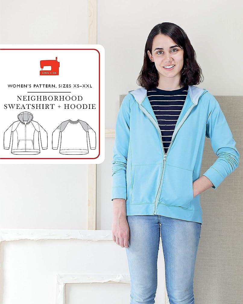 Neighborhood Sweatshirt + Hoodie Sewing Pattern