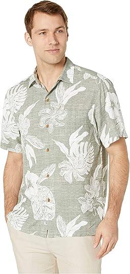Geo Leaf Hawaiian Shirt